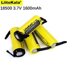 LiitoKala – batterie rechargeable 18500 1600mAh 3.7 V, lithium-ion, pour bricolage