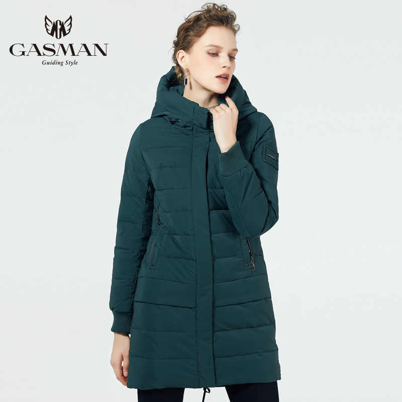 GASMAN 2019 down jacket for winter for women winter jacket warm parka hooded coat Women 'S new winter collection