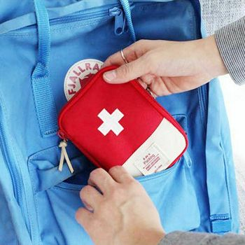 Empty Large First Aid Kit Emergency Medical Box Portable Travel Outdoor Camping Survival Medical Bag Big Capacity Home/Car image