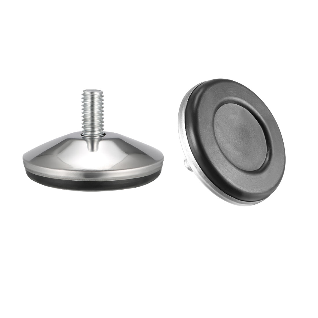uxcell Furniture Levelers  16mm to 20mm Adjustable Height M8 x 15mm Threaded  4Pcs|Furniture Pads| |  - title=