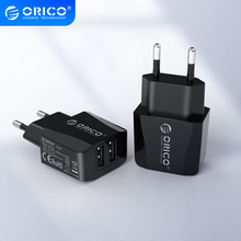 ORICO 5V 2.1A USB Charger 2 Port Travel Charger for iPhone iPad Samsung Xiaomi Huawei
