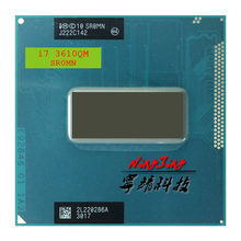 Процессор Intel Core i7-3610QM i7 3610QM SR0MN 2,3 ГГц четырехъядерный восьмипоточный Процессор 6 Мб 45 Вт Разъем G2 / rPGA988B