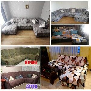 Image 5 - غطاء أريكة غطاء أريكة مرنة الاقسام غطاء مقعد فإنه يحتاج الطلب 2 قطع غطاء أريكة إذا كان لديك أريكة الزاوية L شكل أريكة