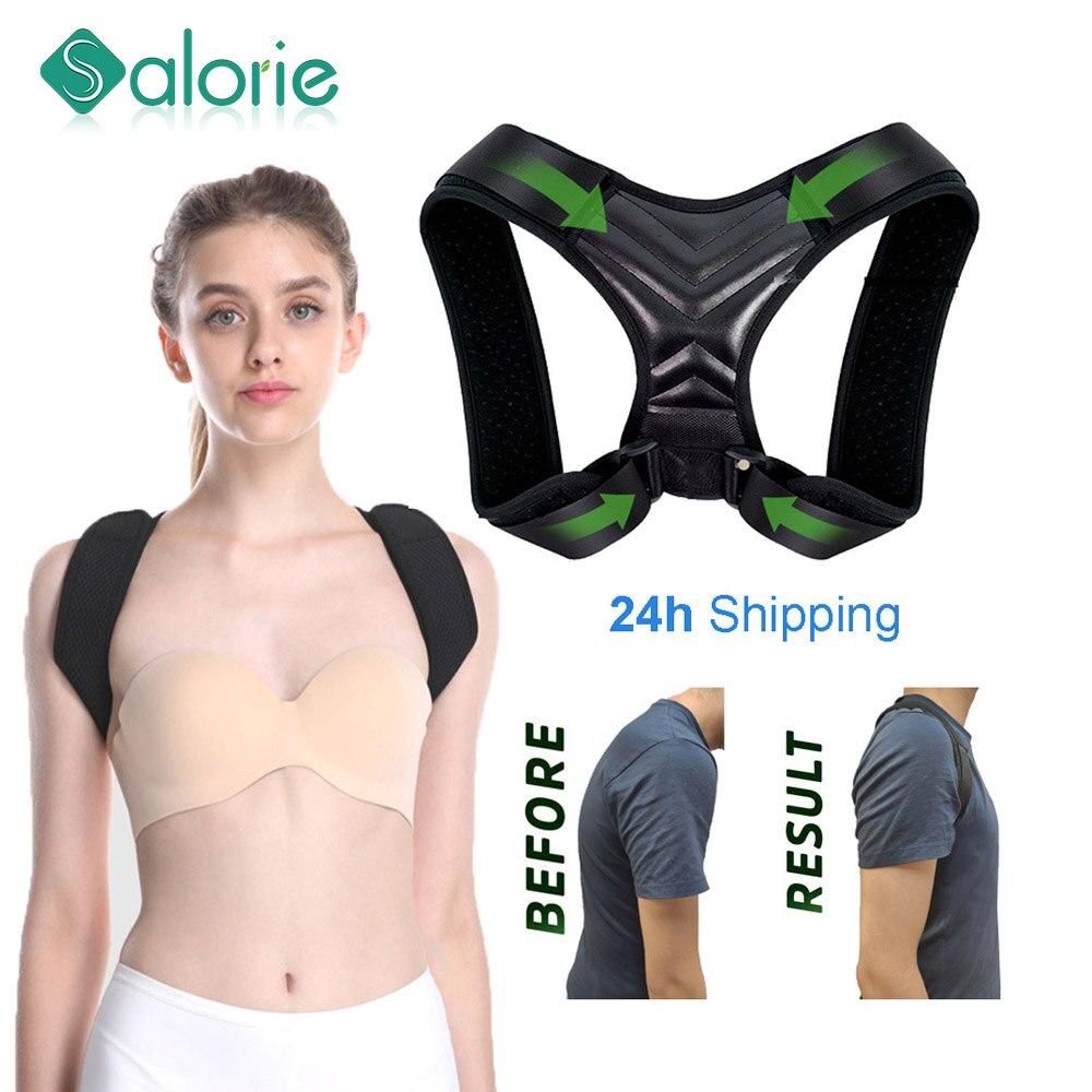 Correcteur de Posture ajustable pour le dos, ceinture pour la clavicule et la colonne vertébrale, pour les hommes et les femmes, pour lextérieur, pour le haut des épaules et les lombaires