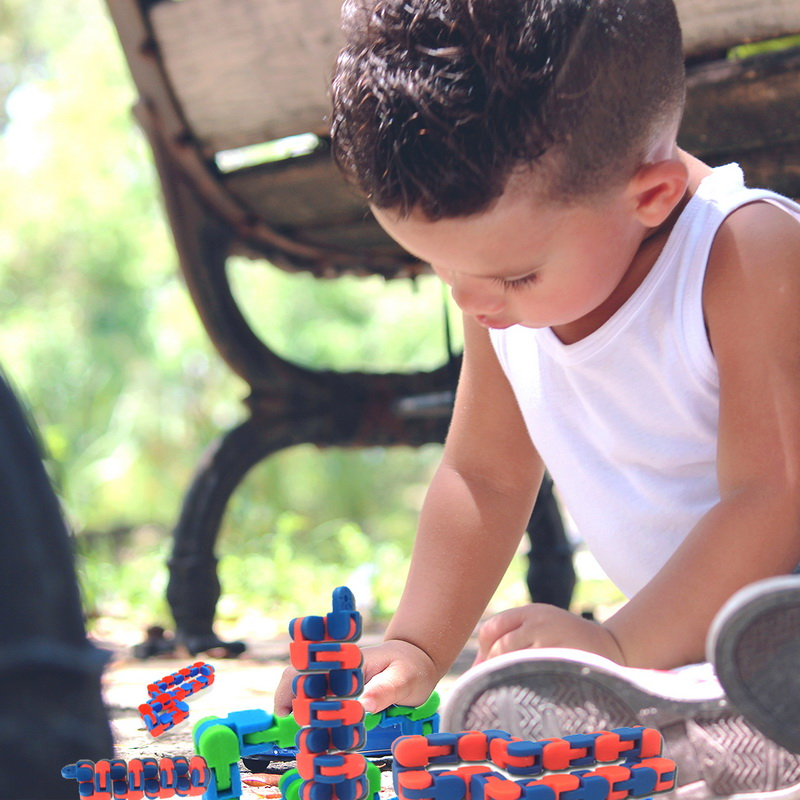 Toy Bracelet Chain Fidget-Toys Spinner Snake Anti-Stress Adult Children for Kids Puzzle img2