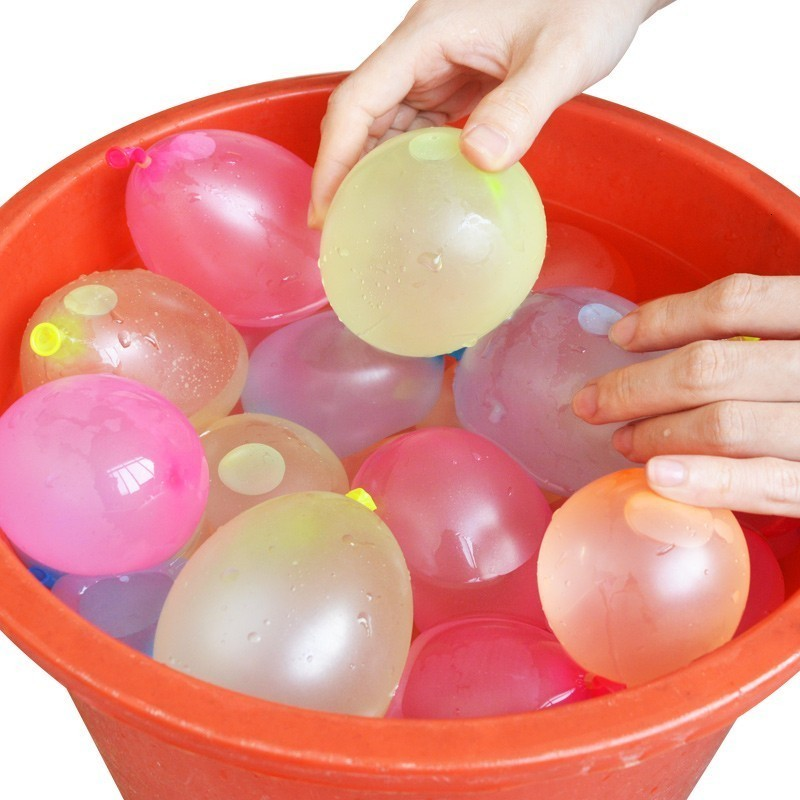 111pcs Water Balloons Quickly Filling Magic Bunch Balloons Bombs Instant Beach Toys Summer Outdoor Fighter Toys For Children