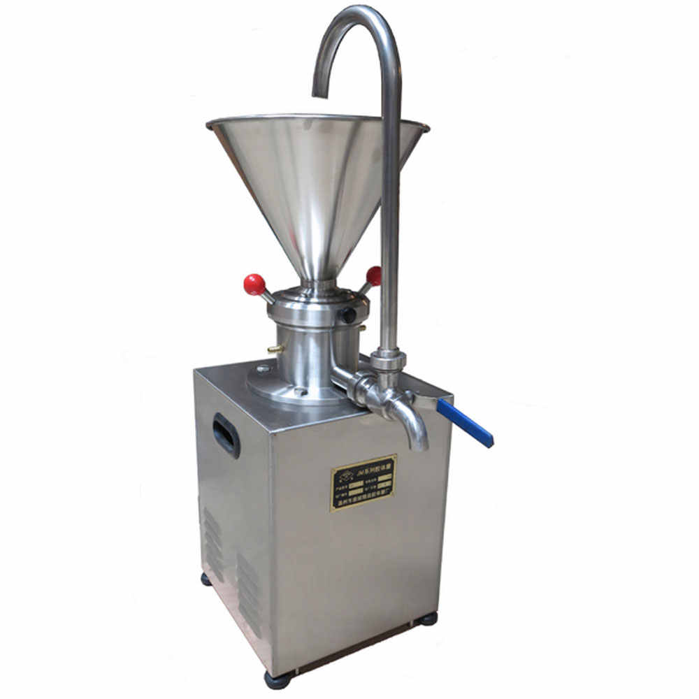 High frequency Colloid Mill Sesame Coating Grinding Machine Sauce Paste Butter Making Machine Automatic 1500W 220V 110V for sale