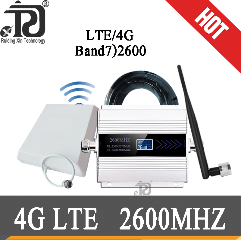 4g signal booster 2600mhz LTE Mobile Signal Booster 2600MHz repeater 2600 cellular amplifier cell Phone