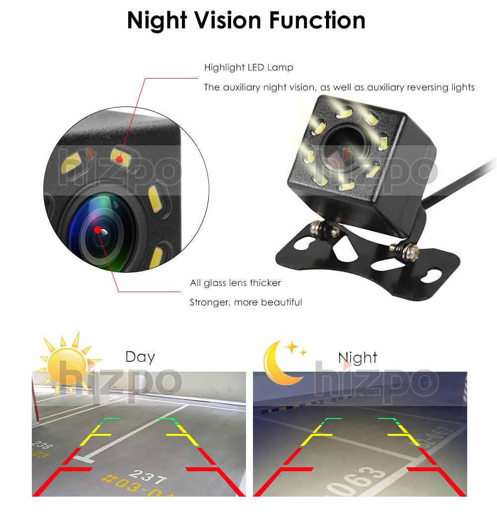 CCD caméra de vue arrière   Caméra HD nocturne, système de surveillance arrière, aide au stationnement pour caméra arrière universelle, caméra de vue arrière, étanche