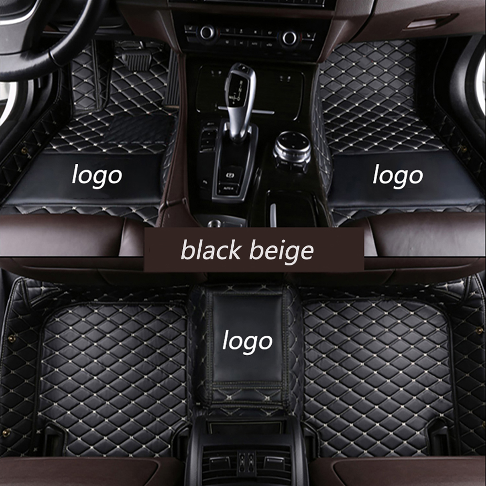 Car floor mats with Logo/Brand Logo for <font><b>Lexus</b></font> <font><b>NX</b></font> 200 200T <font><b>300h</b></font> NT200 NX200T NX300H <font><b>F</b></font> <font><b>Sport</b></font> RX waterproof car-styling leather car image