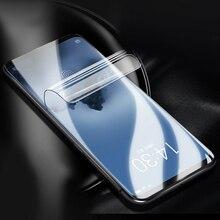 Мягкий полный чехол для meizu 15 16 plus 16x16 th plus Гидрогелевая пленка 15 lite защитная пленка не стеклянная Защитная пленка для телефона