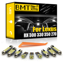 BMTxms Canbus Para Lexus RX 300 330 350 270 400h 450h RX300 RX330 RX350 RX270 RX400h RX450h 1998-2020 Auto LEVOU Luz Interior
