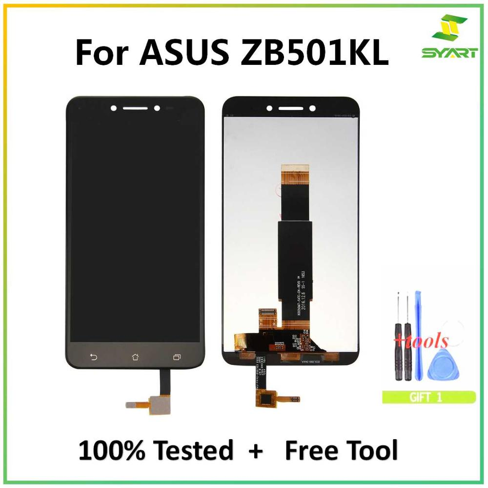 Assembly Lcd-Display Asus Zenfone Live-Zb501kl Lcds-Screen Digitizer For