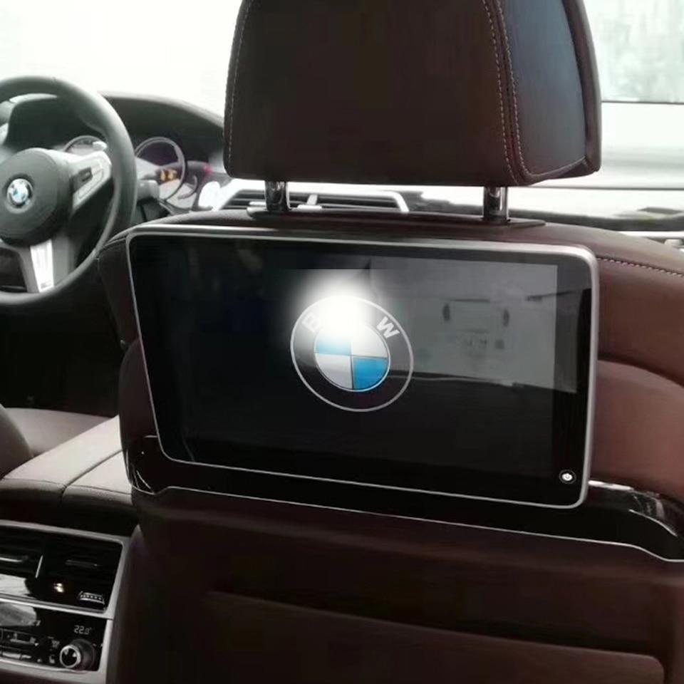 Beste Qualität Fahrzeug Auto Sitz TV Display mit AV video audio Eingang Verbunden OEM auto frontscheibe für BWM