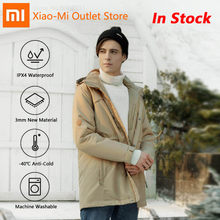 Xiaomi Youpin DMN Cold Isolation Aerogel Material Winter Jacket Machine Washable -40 Celsius Cold Resistance Clothes For Men(China)