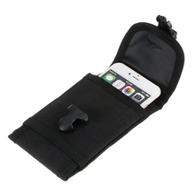 Tactical Universal Hard Wearing Cell Phone Pouch Multi-function Adjustable Strap Waist Bag Belt Pouch 5.5 inches