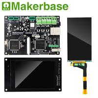 Фотоотверждение МКС DLP плата контроллера Робин TFT35 дисплей 2 к резкий экран обновление для DLP UV SLA DIY 3d материнская плата части принтера