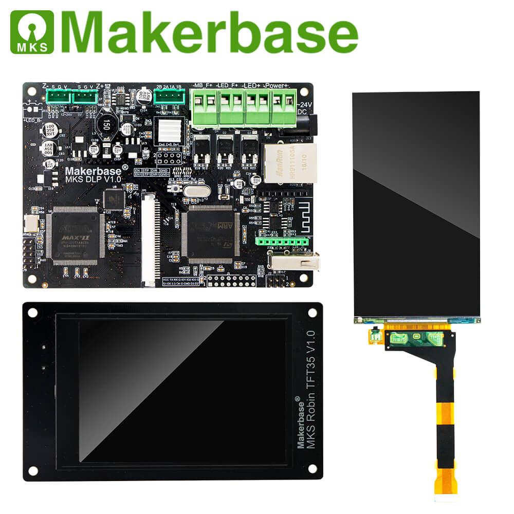 Photocuring MKS DLP Controller Board Robin TFT35 Display 2K Sharp Screen upgrade for DLP UV SLA DIY 3d Mainboard printer parts|3D Printer Parts & Accessories| |  - title=