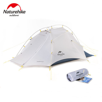 Naturehike Cloud Up Wing 2 Men Tent 15D Nylon Ultralight Portable Windproof Tents
