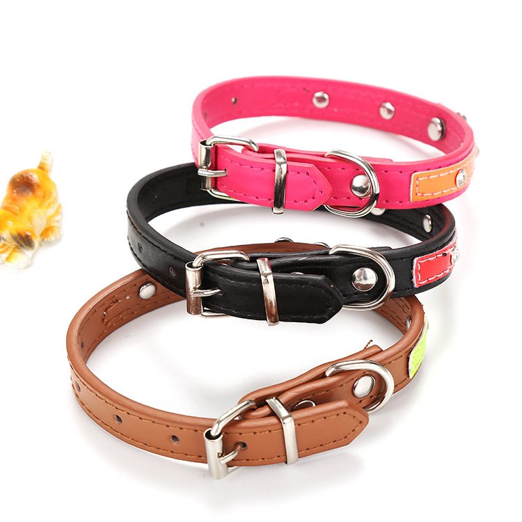 Pet Cat Dog With Diamond Bone Neck Ring Comes With Reflective Strips Pet Traction Factory Currently Available Wholesale Cross Bo