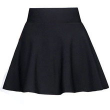 Short Mini Skirt Pleated A-Line Floral-Girl Women Summer Young BONJEAN Casual for Print