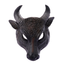 Halloween Costume Masks Cosplay Scary Buffalo Bull Head Mask for Adults Party Decoration Props Creepy Accessory