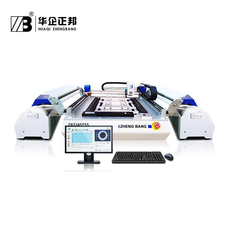Электронное производство товаров Настольный манипулятор для монтажа печатных плат быстрая скорость сборочный станок для изготовления све
