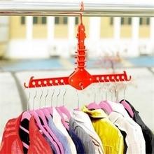 Home Living Space Saver Folding Magic Hanger Closet Organizer Hanger