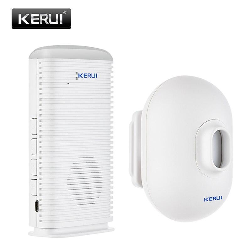 KERUI DW9 Wireless Infrared Vehicle Alarm System Home Security Waterproof PIR Motion Detector Driveway Garage Burglar Alarm