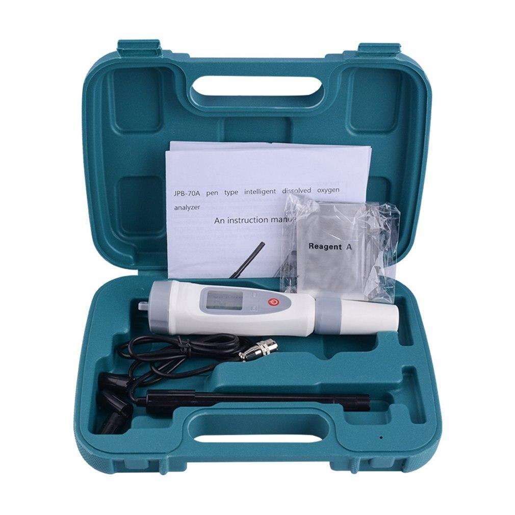 Digital Dissolved Oxygen Meter Portable Dissolved Oxygen Pen Water Quality Tester Dissolved Oxygen Detector Analyzer