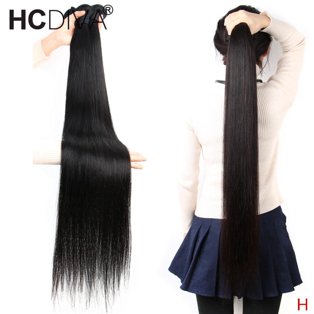 Brazilian Straight Hair Bundles 8--34 36 38 40 Inch 100% Remy Human Hair Bundles 3/4 Bundles Natural Black Human Hair Extension