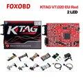 KTAG K-TAG V7.020 V2.23 2 светодиодный мастер-версия без знака предел автомобиль/мотоцикл/Грузовик ECU программирование FW V7.020 SW V2.23 функция BDM