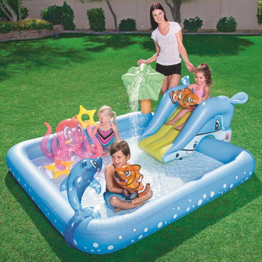 Детский бассейн, надувной бассейн для взрослых, бассейн для купания, открытый бассейн большого размера
