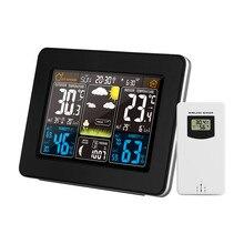 FanJu FJ3365 פנימי/חיצוני אלקטרוני אלחוטי מדחום מדדי לחות מקצועי טמפרטורת לחות מד תחנת מזג