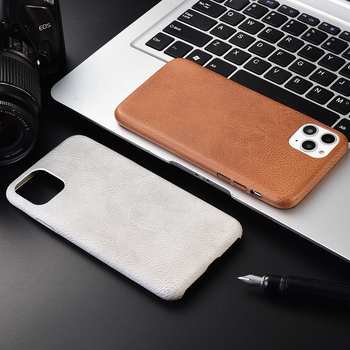 For iPhone 11 Pro SE 2 PU Leather Protection Soft Cover X XR XS Max 7 8 6 6s Plus Phone Case image