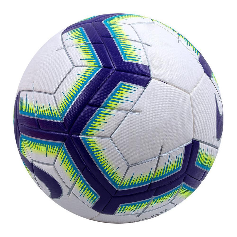 Profissional tamanho 5 premier couro falso sem emenda futebol formação jogo bolas de treinamento esportes futebol liga bola futbol bola bola