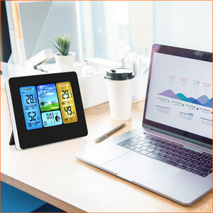Image 5 - RZ Weather Station Wireless Multifunction Indoor Outdoor Sensor Thermometer Hygrometer Digital Alarm Clock Barometer Forecast