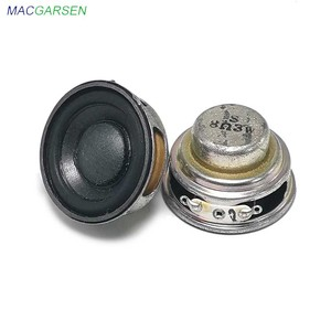 Image 5 - 2 個 40 ミリメートルフルレンジスピーカー 1.5 インチ 3 ワット 5 ワット 4 8 オームハイファイゴムサイドスピーカー diy ポータブル bluetooth スピーカーミニ音楽スピーカー