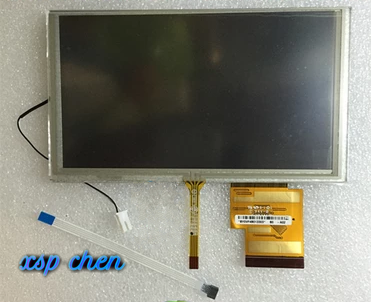 155*88 MM Original 6.2 Inch LCD Screen HSD062IDW1 A00 A01 A02 With Touch Screen For DVD Car GPS Navigation