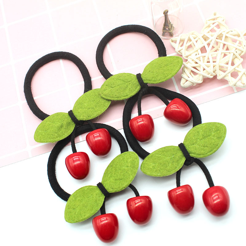 Vermelhas de Borracha Faixa de Cabelo Styling Ferramentas Acessórios HA1025