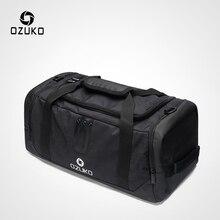 OZUKO, многофункциональный большой вместимости, мужская сумка для путешествий, водонепроницаемая, Оксфорд, сумка для багажа, сумки для путешествий