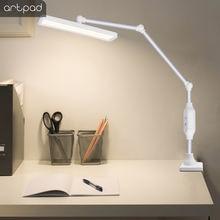 Настольная лампа artpad 12 Вт с клипсой вращающийся на длинной