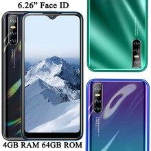 Tela de gota de água s7 android face id original 4g ram 64g rom desbloqueado smartphones 6.26 phones phones telefones celulares quad core telefones celares