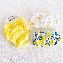 3 Pieces/lot Baby Training Pants 6 Layers Baby Cloth Diaper Reusable Washable Cotton Elastic Waist Cloth Diapers 8-18KG Nappy