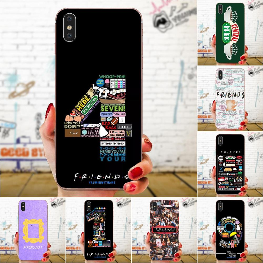 TPU Cover Cell Phone Cases For Xiaomi Redmi Note 2 3 3S 4 4A 4X 5 5A 6 6A Pro Plus Friends Season Tv image