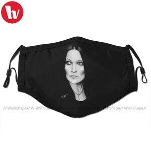 Nightwish маска для лица Tarja Turunen маска для лица забавная Мода с 2 фильтрами для взрослых