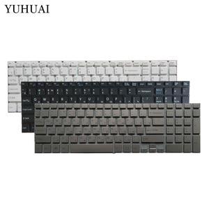 Русская клавиатура для ноутбука Sony VAIO SVF152C29V SVF153A1QT SVF15A100C SVF152100C SVF1521Q1RW белый/черный/серебристый