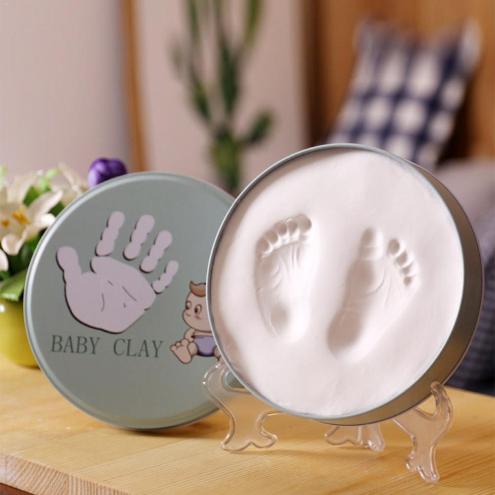 Newborn Hand And Foot Inkpad Photo Frame Baby Footprints Commemorative Photo Frame Decoration Ornaments Hand Print Keepsake Kit