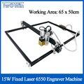 15 Вт с фиксированным фокусом 500 МВт/2500 мвт/5500 МВт лазер DIY лазерный гравер машина 6550 ЧПУ лазерный станок деревянный маршрутизатор для резки и ...