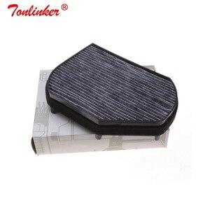 Image 3 - Araba kabin filtresi Oem A2028300018 Mercedes CLK A208 C208 1997 2003/SLK R170 1996 2004 modeli 1 adet aktif karbon filtre